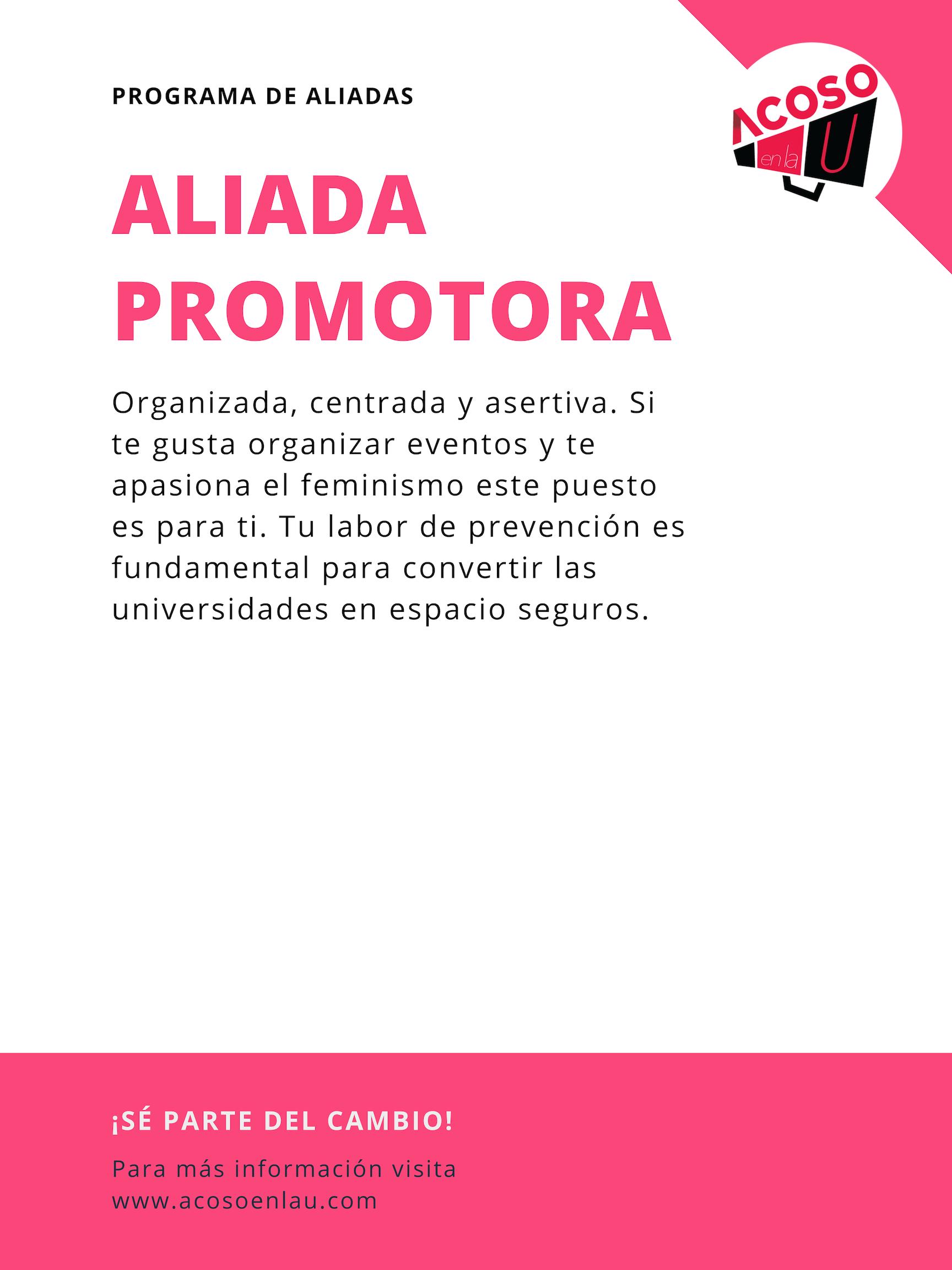 Red-de-Aliadas-Acoso-En-la-U-Hostigamiento-Sexual-Activista-influencer-promotora